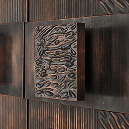 handcrafted handles for armored doors and architectural entrances